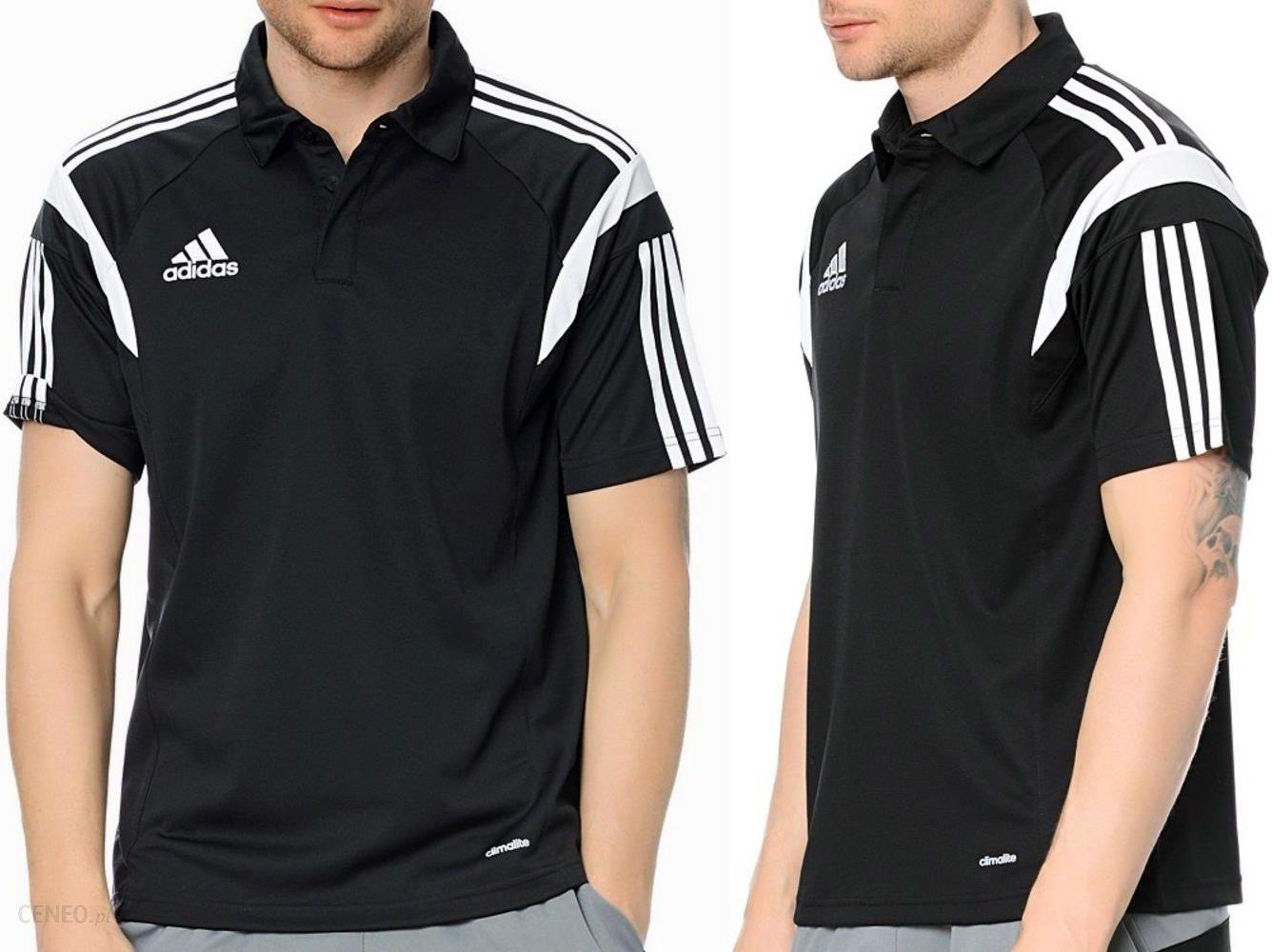 Koszulka Męska Polo ADIDAS Czarna XL