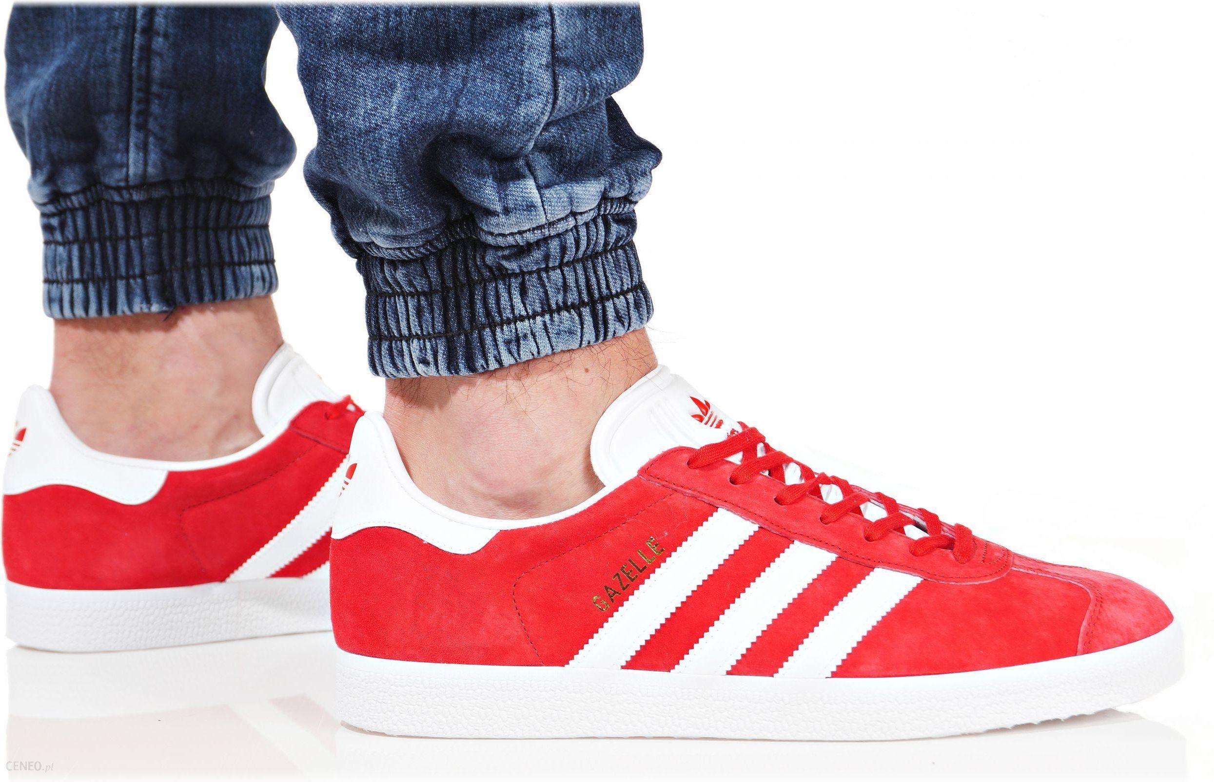 Buty adidas męskie gazelle s76228 czerwone Galeria zdjęć i