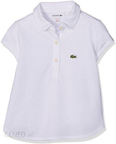 ca38b8e48 Amazon Lacoste Koszulka polo dziewczynek, kolor: biały - Ceny i ...