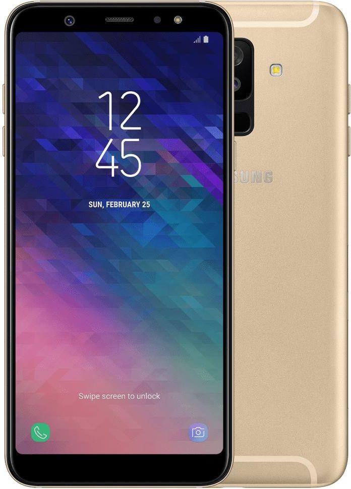 Samsung Galaxy A6+ SM-A605 32GB Dual SIM Złoty