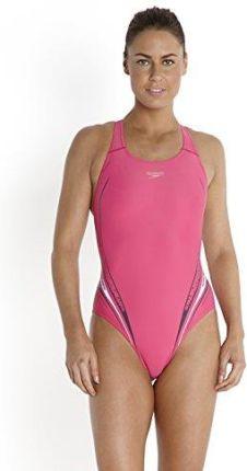 3fb1edfb3bbbed Amazon Speedo PLMT PBCK AF strój kąpielowy damski, różowy