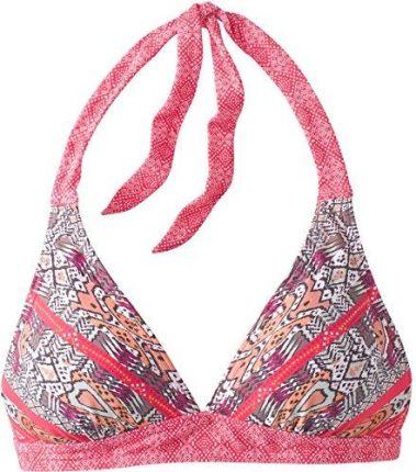 ff01ed7a4ce24f Bonprix Biustonosz bikini push up niebiesko-czerwony w paski ...