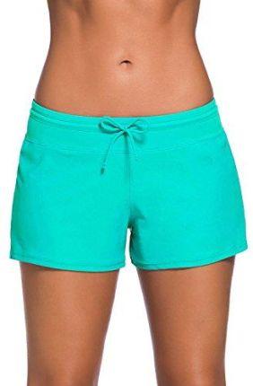 df59c1d781ab60 Amazon Happy sailed bikini damskie spodnie, kolor: zielony , rozmiar: (50-. Kostium  kąpielowyAmazon ...