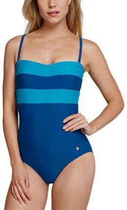 d69c1c502a657b Amazon Schiesser strój kąpielowy damski jednoczęściowy Aqua -