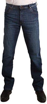 4653bd35de0de Amazon Wrangler męskie dżinsy Texas ze stretchem Night Break - prosta  nogawka 30W / 30L