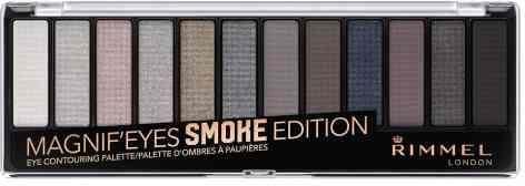 RIMMEL Magnif'Eyes paletka cieni do powiek 003 Smoke Edition 14g