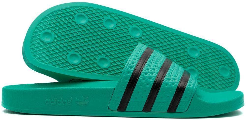 b18e984a26d52 Adidas Klapki unisex Adilette Slides zielone r. 39 (CQ3100) - Ceny i ...