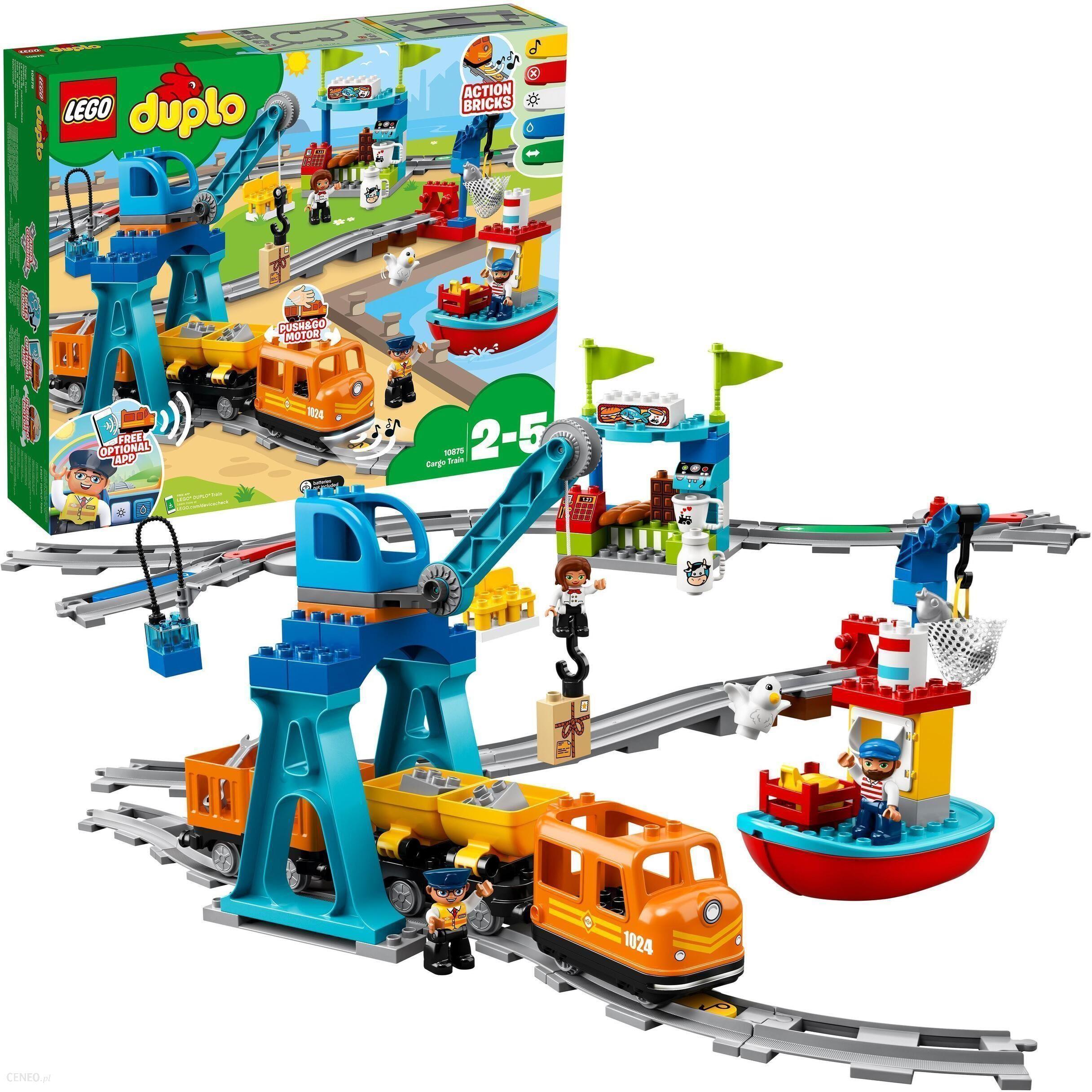 Klocki Lego Duplo Pociąg Towarowy 10875 Wrocław Sklepy Ceny I