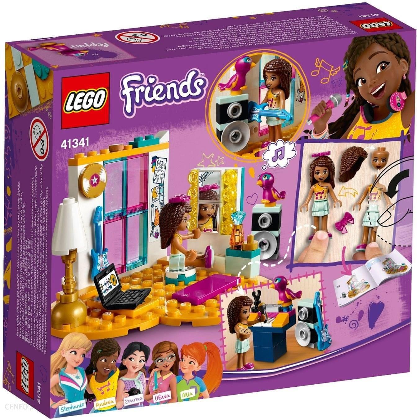 Klocki Lego Friends Sypialnia Andrei 41341 Ceny I Opinie Ceneopl