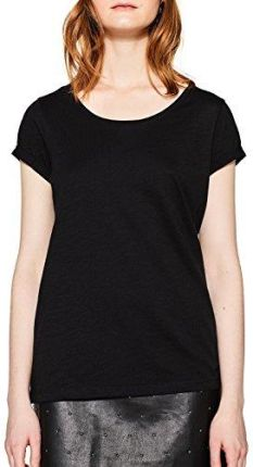 eeb3d07f18e428 Amazon edc by Esprit damski T-Shirt - krój regularny XS czarny (black 001