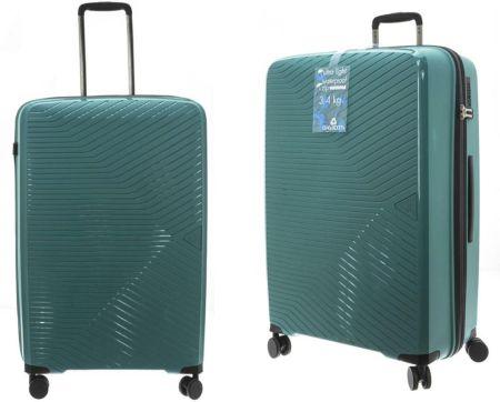 b2ce4f294f8ee Zestaw 3 brązowych walizek Travel World Amazonia Travel World - Ceny ...