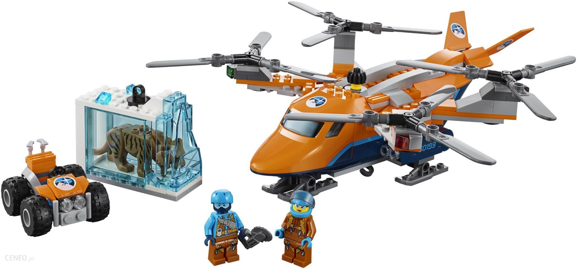 Klocki Lego City Arktyczny Transport Powietrzny 60193 Ceny I