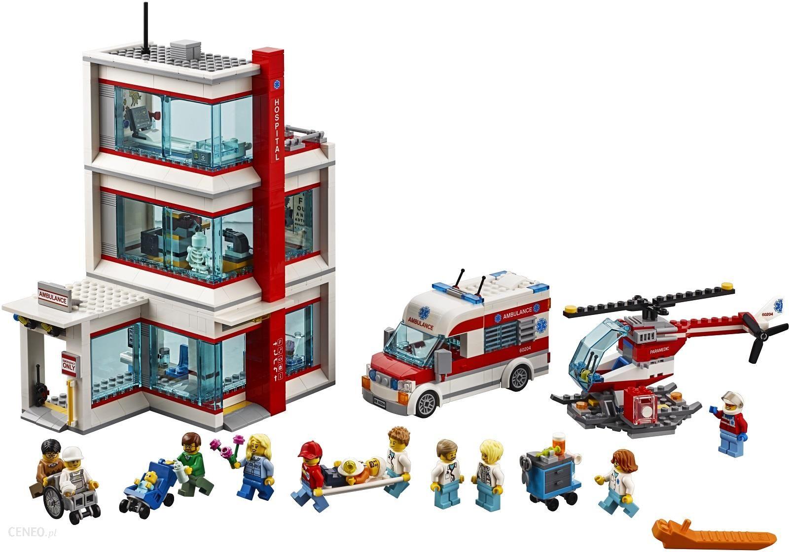 Klocki Lego City Szpital 60204 Ceny I Opinie Ceneopl