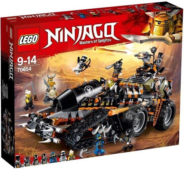Klocki Lego Ninjago Dieselnauta 70654 Kraków Sklepy Ceny I Opinie