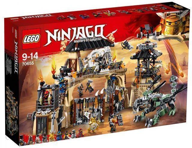 Klocki Lego Ninjago Smocza Jama 70655 Ceny I Opinie Ceneopl