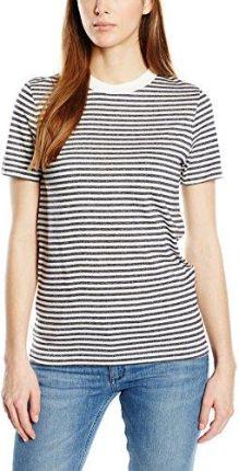 Amazon Damski T-Shirt sfmy Perfect SS Tee Selected Femme – Box Cut-Stri 581632955a1