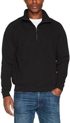 4f4a76f89fe53 ... Adidas Originals Superstar Fleece - Xs. Amazon Fruit of the Loom bluza  męska Zip Neck Sweat, kolor: czarny (BLACK