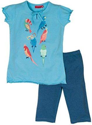 51895e057 Amazon Salt and Pepper zestaw dla dziewcząt prowadnicowy zestaw Smile Print  papugi, kolor: niebieski