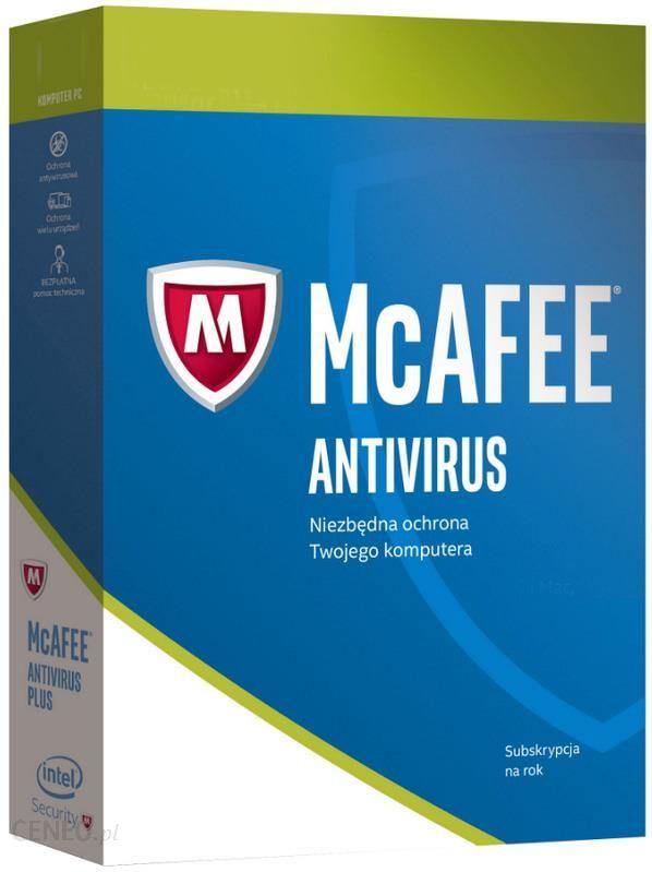 McAfee AntiVirus PLUS 10PC / 1Rok