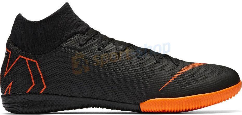 buty jesienne gorący produkt niepokonany x Nike Halowe Mercurial Superflyx Vi Academy Ic Czarne Ah7369081