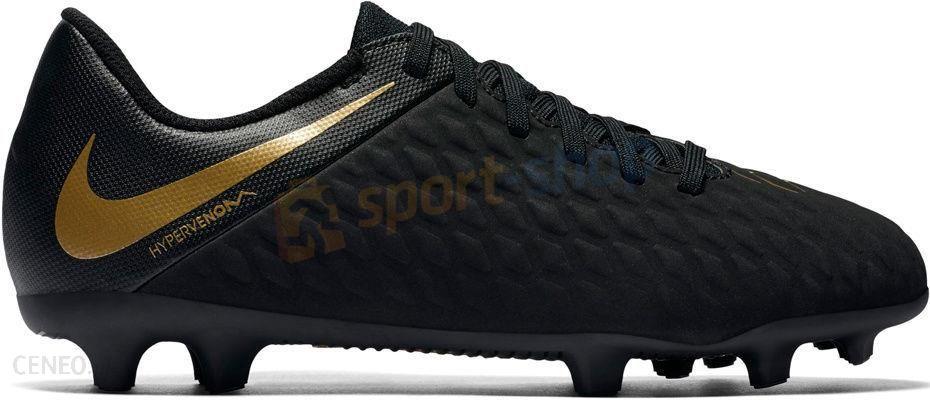 new style b5813 55544 Nike Korki Hypervenom Phantom X 3 Club Fg Czarno-Złote Aj4145090 - zdjęcie 1