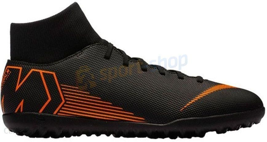 topowe marki Los Angeles tani Nike Turfy Mercurial Superflyx Vi Club Tf Czarne Ah7372081