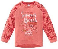 eff9a7e63f707 Amazon Schiesser dziewczynka bluza, kolor: czerwony (koralle 517) ,  rozmiar: 116