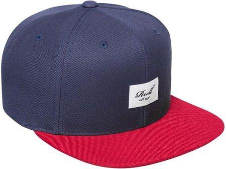 d4a4b59227516 czapka z daszkiem REELL - Pitchout 6-Panel Cap Light Navy Red (LIGHT NAVY