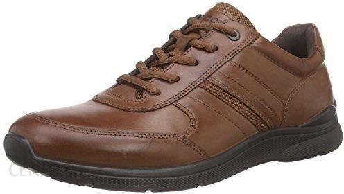 38f4af36 Amazon Półbuty Ecco IRVING dla mężczyzn, kolor: brązowy, rozmiar: 44 -  zdjęcie