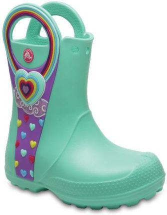 ... Rain Boot Kids Yellow 12803-730. Buty Crocs Handle It Graphic 204976  Mint r.27 Allegro a3b86d11ab0