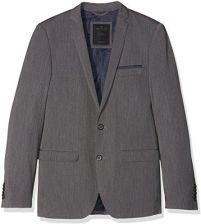cc7ea75a05c6e Amazon TOM TAILOR męski marynarek Solid Clean Suit Jacket, kolor: szary  (Tarmac Grey