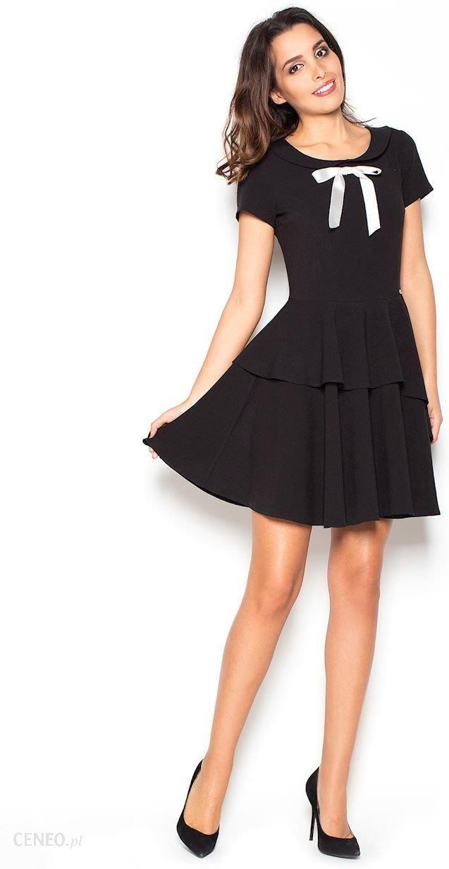 2103373bbc Katrus Sukienka K367 czarna r. XL - Ceny i opinie - Ceneo.pl