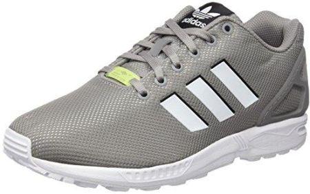 reputable site 6ce15 a8f46 Amazon Adidas Męskie buty do biegania Flux ZX, kolor szary, rozmiar 43