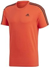 22acd014e1c4ec Amazon Adidas męski Essentials 3S Tee/T-Shirt cw3806 Hi-Res Red -