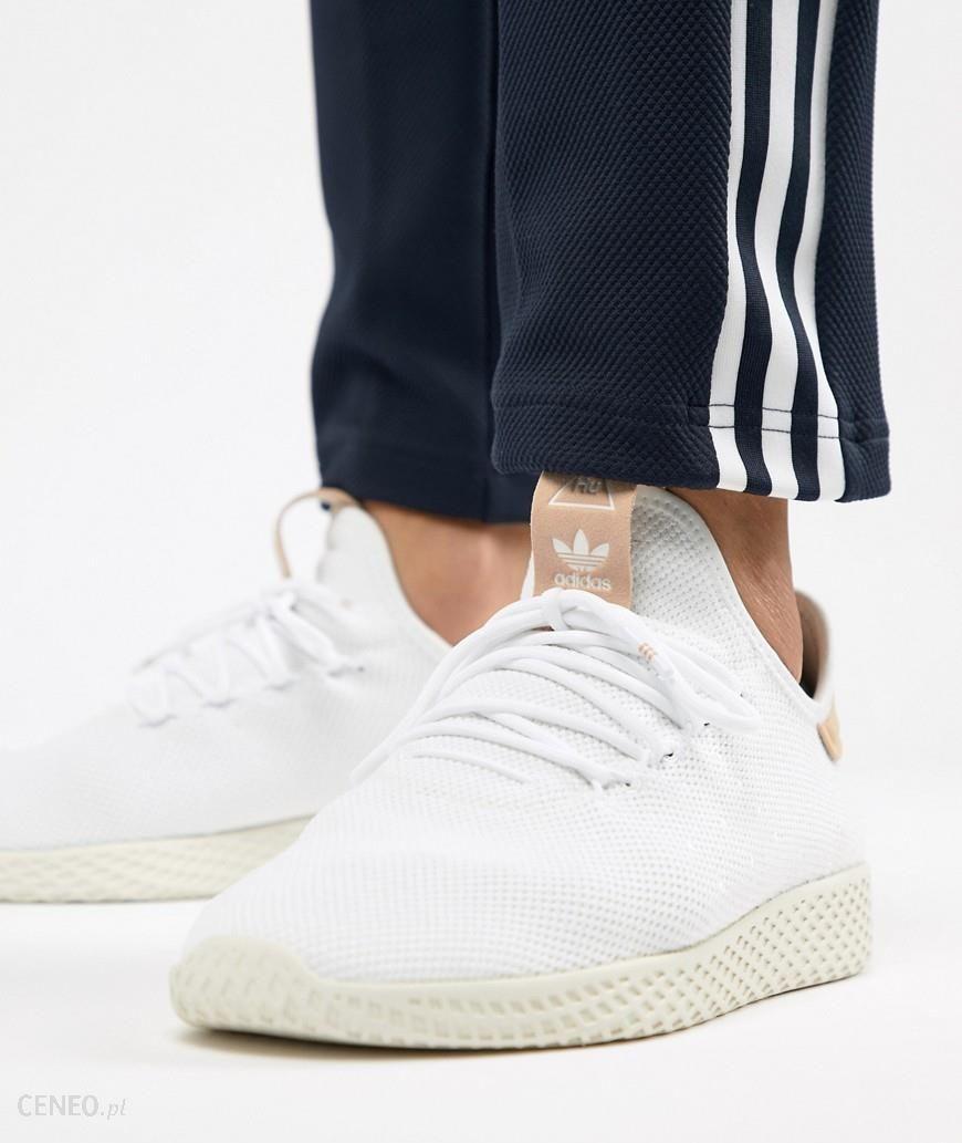 Adidas Originals Pharrell Williams Tennis HU Trainers In White CQ2169 White Ceneo.pl