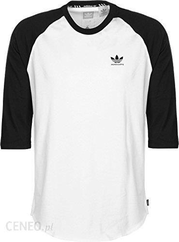 Amazon Męska koszulka z długim rękawem Adidas Originals Clima pointoh T Shirt XS biały Ceneo.pl
