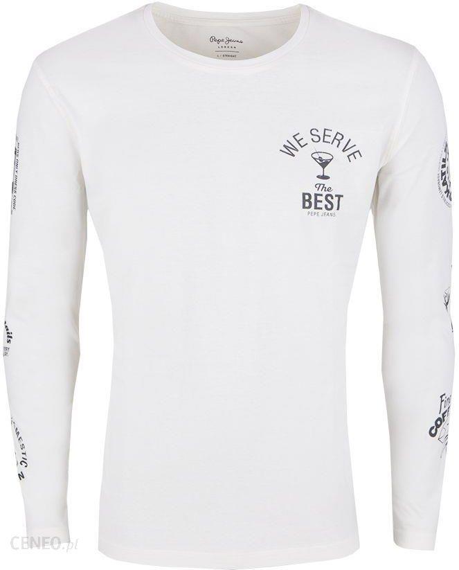 46b4f976a83 T-Shirt Pepe Jeans Eggo Long Dark Blue - Ceny i opinie - Ceneo.pl