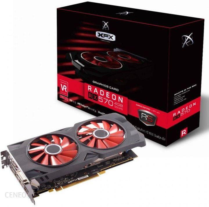 XFX Radeon RX 570 8GB OC (RX570P8DFD6)