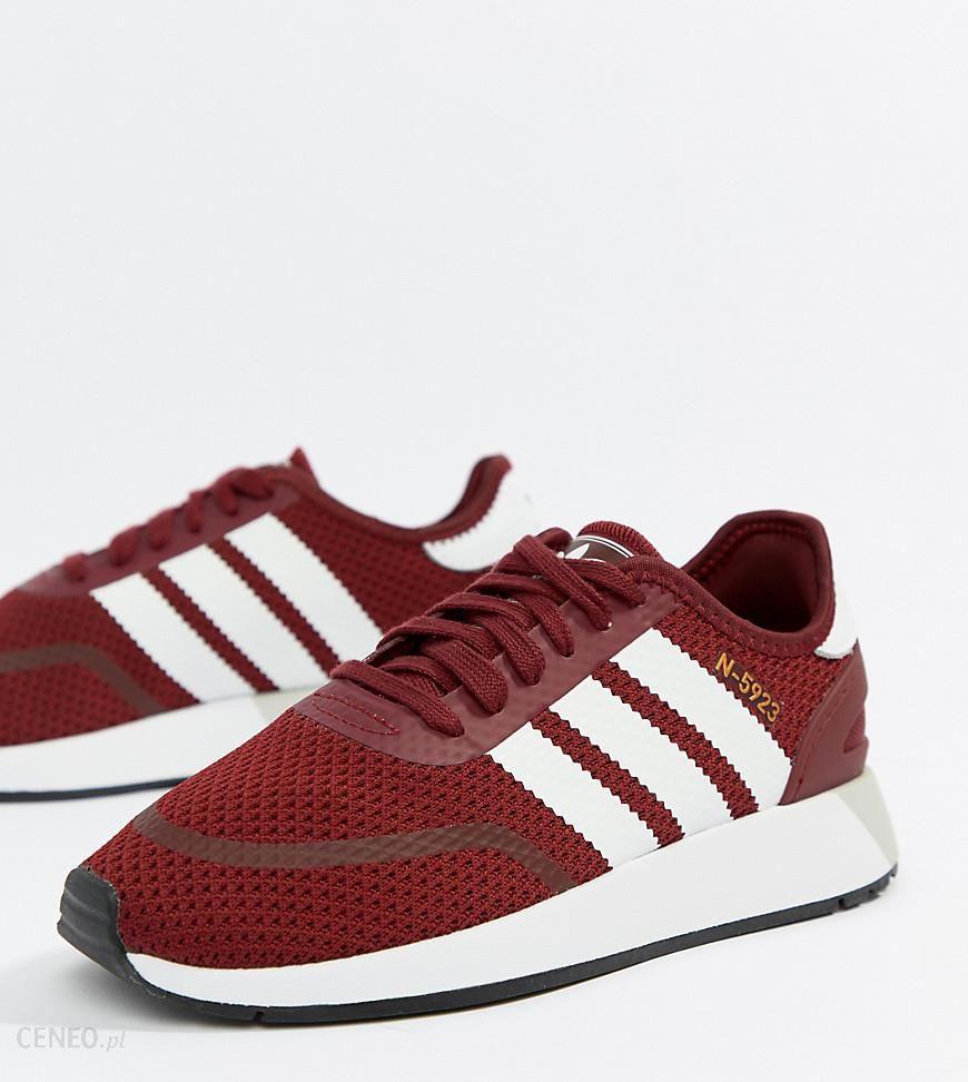 adidas Originals N 5923 Runner Trainers In Burgundy Red