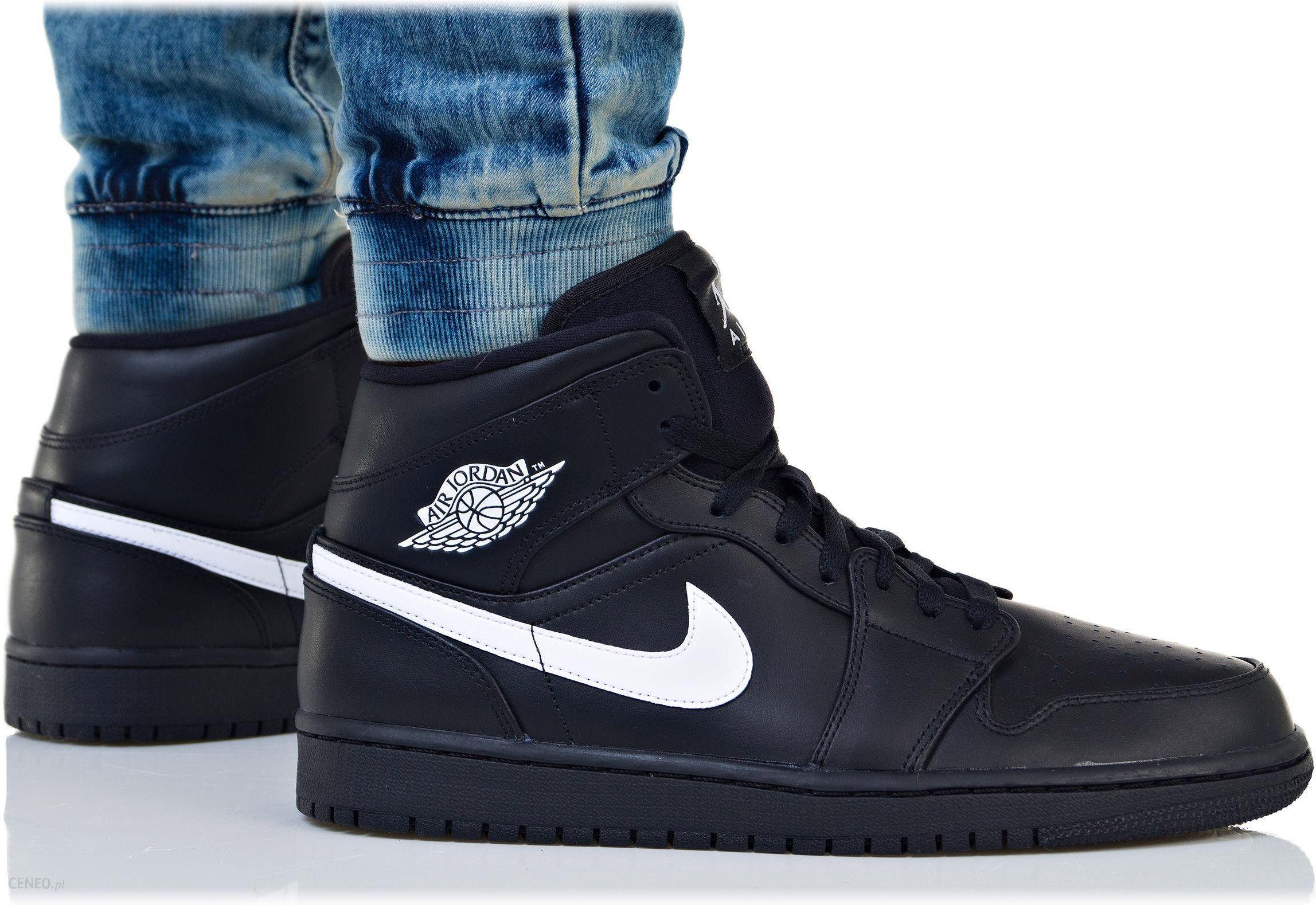 Buty Nike Męskie Air Jordan 1 MID 554724 049 Ceny i opinie Ceneo.pl