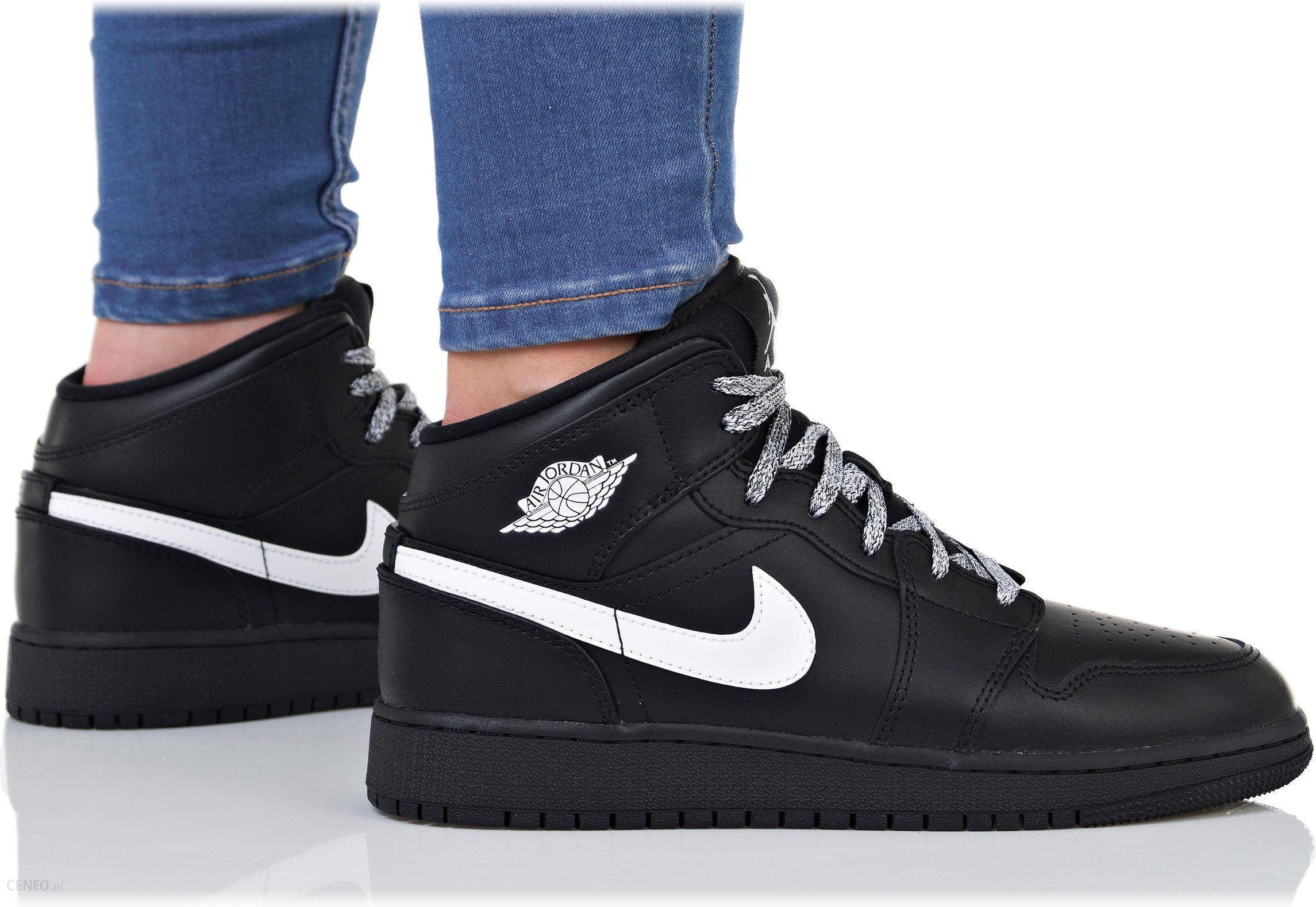 sklep z wyprzedażami sklep internetowy wyprzedaż Buty Nike Damskie Air Jordan 1 MID Bg 554725-049 - Ceny i opinie - Ceneo.pl