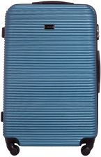 32bd040d375d2 Walizka duża Vip Collection Sierra Madre 28'' Srebrnoniebieska - Silver blue