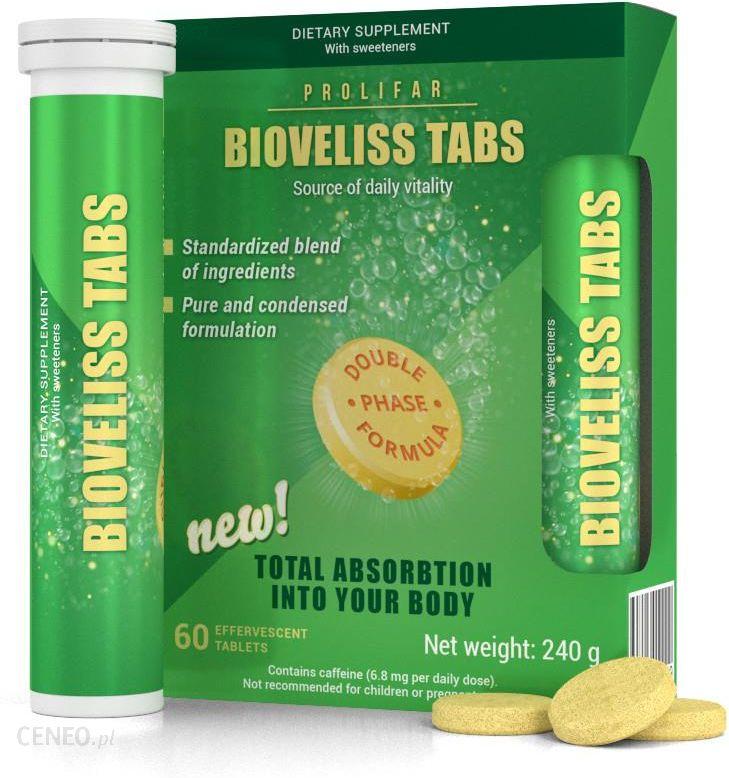Musujace Tabletki Na Odchudzanie Bioveliss Tabs Oczysc Organizm Od Srodka Opinie I Ceny Na Ceneo Pl