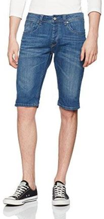e036a9f7a75fb Amazon Pepe Jeans London męskie spodenki cash Short, kolor: niebieski (denim)  ,