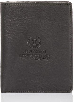 ac30995f5d5d75 Bardzo duży skórzany portfel męski Wittchen 21-1-263, czarny ...