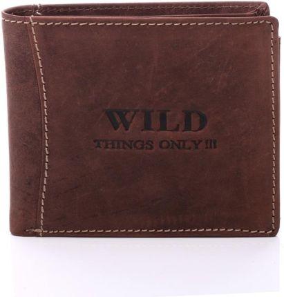 49040ffb50f7a P Rasowy portfel męski Wild things Only !!! 2XSIM - mocna skóra - 5460