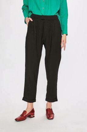31e8a1b6a1c0 Bordowe spodnie skinny z wysokim stanem + pasek - Bordowy Olika ...