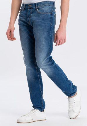 3f345f187232e Spodnie jeansowe męskie - Materiał  Elastan - Ceneo.pl