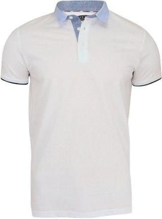 Klasyczna Koszulka Polo - Brave Soul - Biel TSBRSSS18YONANwhite - Ceny i opinie T-shirty i koszulki męskie IQIZ