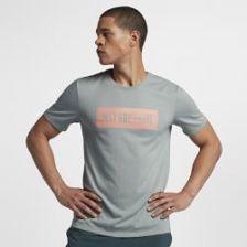 "930c67d65 Męski T-shirt treningowy Nike Dri-FIT ""Just Don't Quit"" - Szary ..."